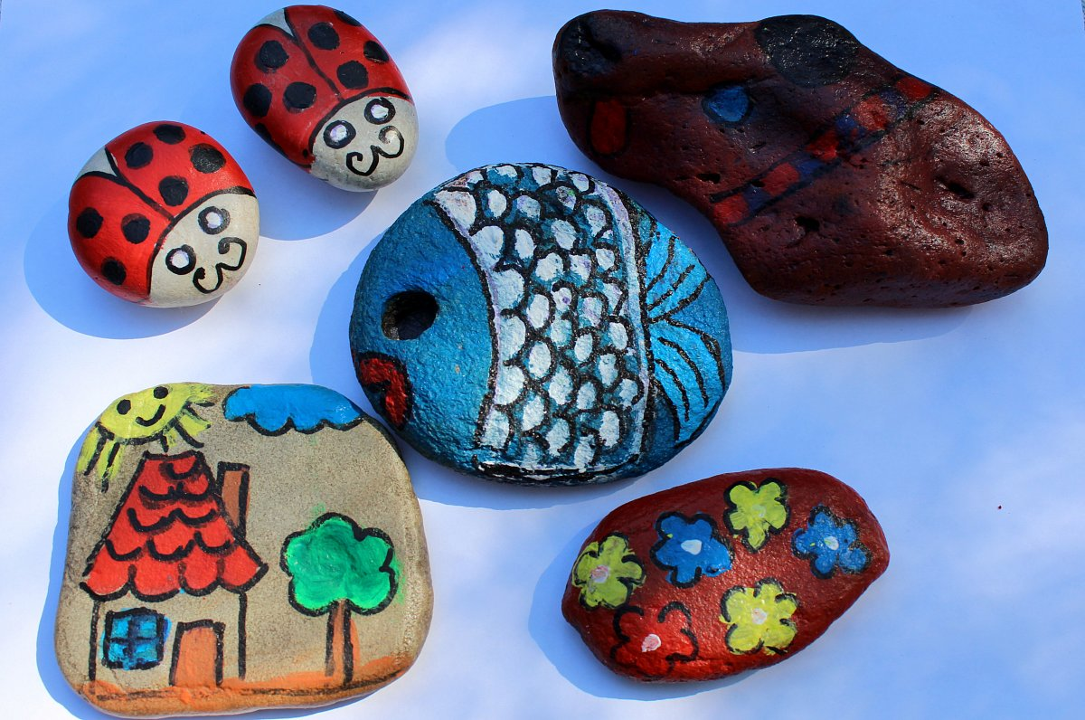 Jak jsem začala malovat kamínky | i60.cz