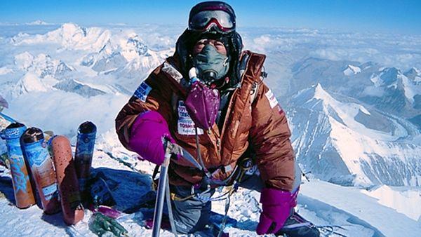 Rande s horolezcem