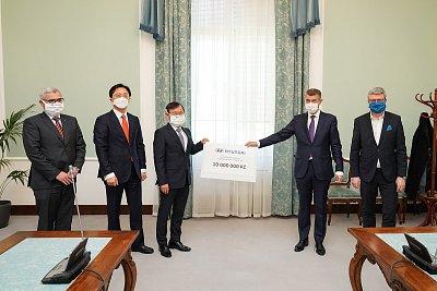 Hyundai přispěje České republice v boji proti nemoci COVID-19 částkou 10 miliónů korun a dodávkou 20.000 respirátorů