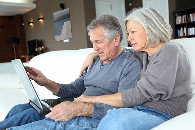 Online senioři
