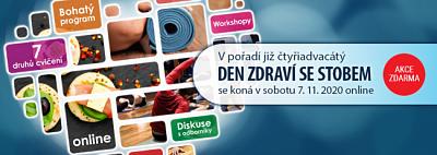 Letošní Den zdraví bude online.  Pobaví a poučí všechny generace