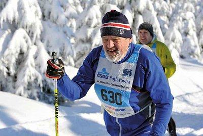 Rekordman Ladislav Míka jel Jizerskou padesátku již 44krát