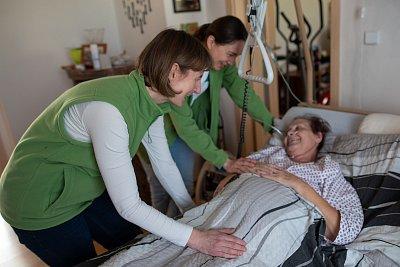 Jsme tu jak pro nemocného, tak pro jeho blízké, říká vrchní sestra domácího hospice Nablízku Markéta Vaněčková