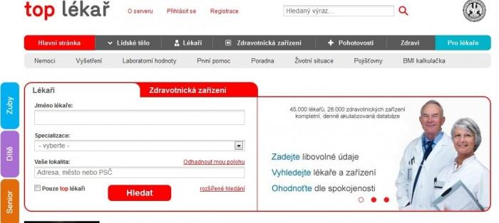 Seznamka lékařů webové stránky