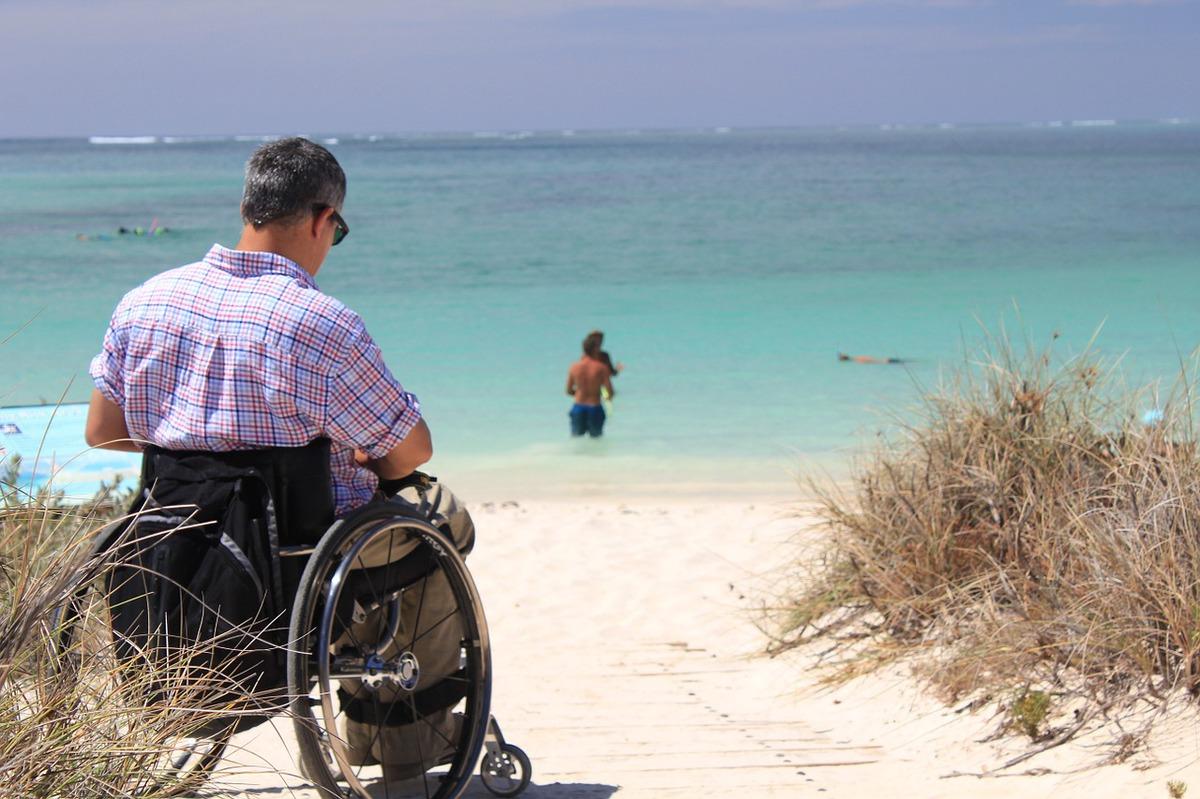 Seznamka uživatele invalidního vozíku